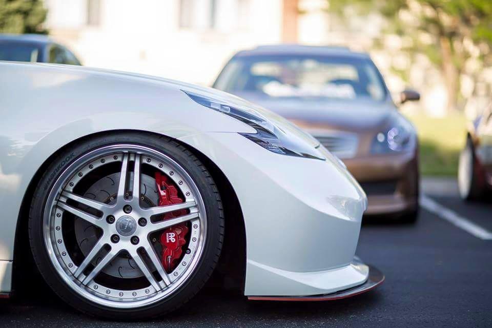 Nlp Splitter Carbon Fiber Nissan 370z Nismo