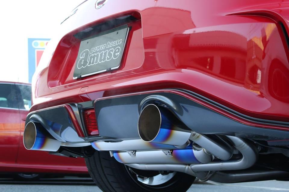 Powerhouse Amuse R1 Titan Extra Stti Exhaust
