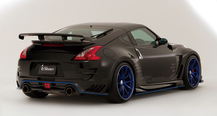 varis arising ii body kit nissan 370z z34 nextlevel. Black Bedroom Furniture Sets. Home Design Ideas