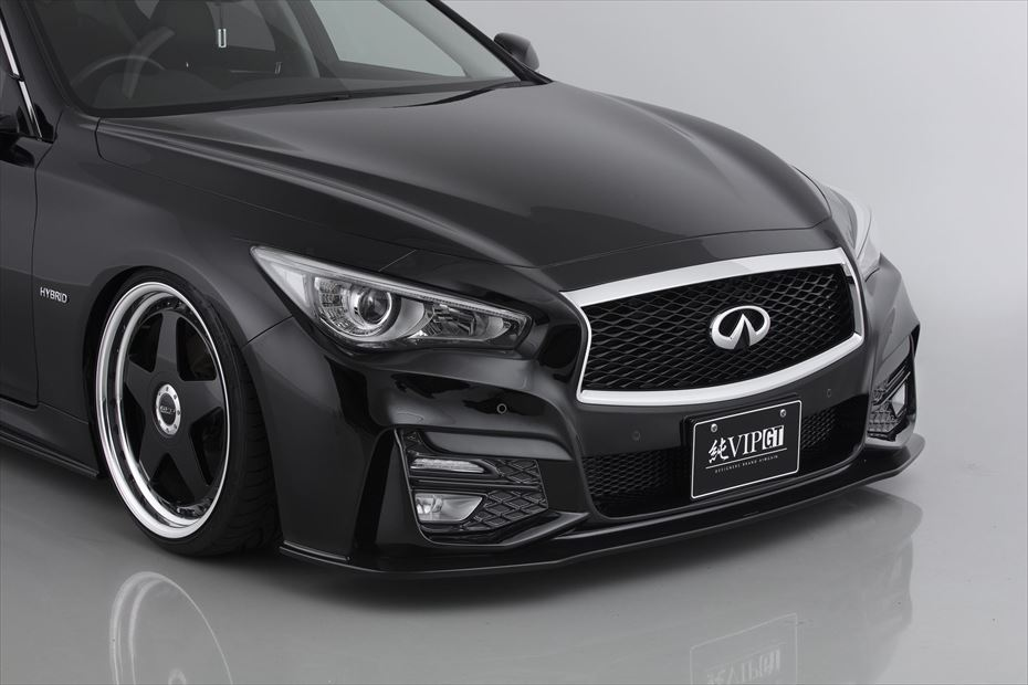 aimgain pure vip gt body kit spoiler infiniti q50 sedan nextlevel performance. Black Bedroom Furniture Sets. Home Design Ideas